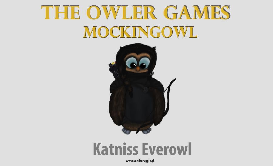 The Hunger Games Owl Katniss Everdeen