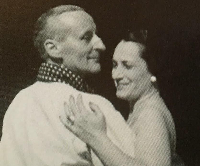 Avec son épouse Andrée 1928