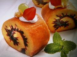 Resep Rainbow Sweet Roll Cake Istimewa