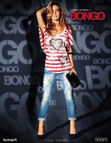 Audrina  Patridge New BONGO Ad Photos!