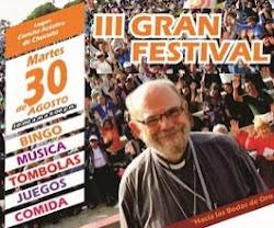 3 Gran Festival - 30 de Agosto