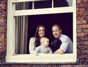 Prince George Stars in New Family Photo