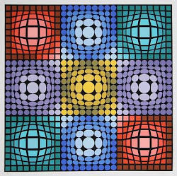 1987- VICTOR VASARELY. OP ART