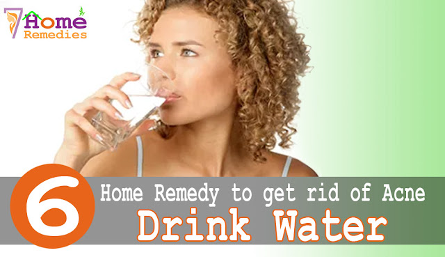 Drinking water helps to hydrate your body