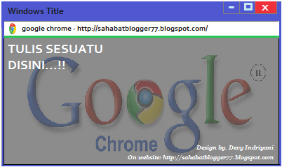 Text Box Google Chrome image