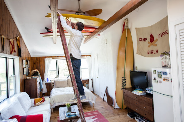 mikey detemple,montauk,photographe,beach bungalow,beach shack,déco,surf