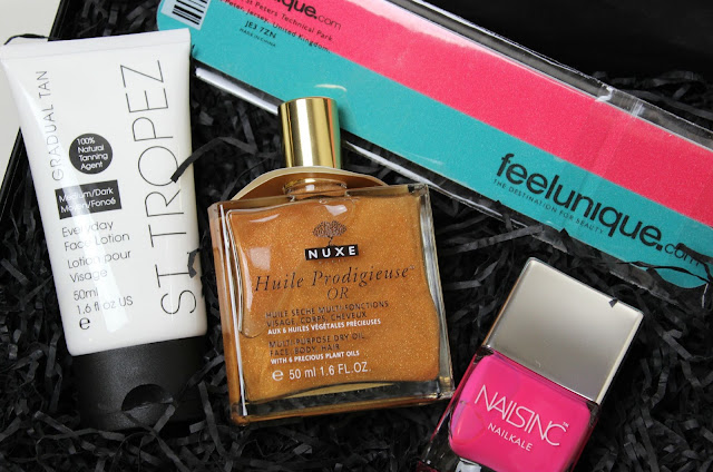 A picture of the FeelUnique Summer Time Beauty Box
