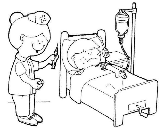 Dibujos de enfermeras de preciosos momentos - Imagui