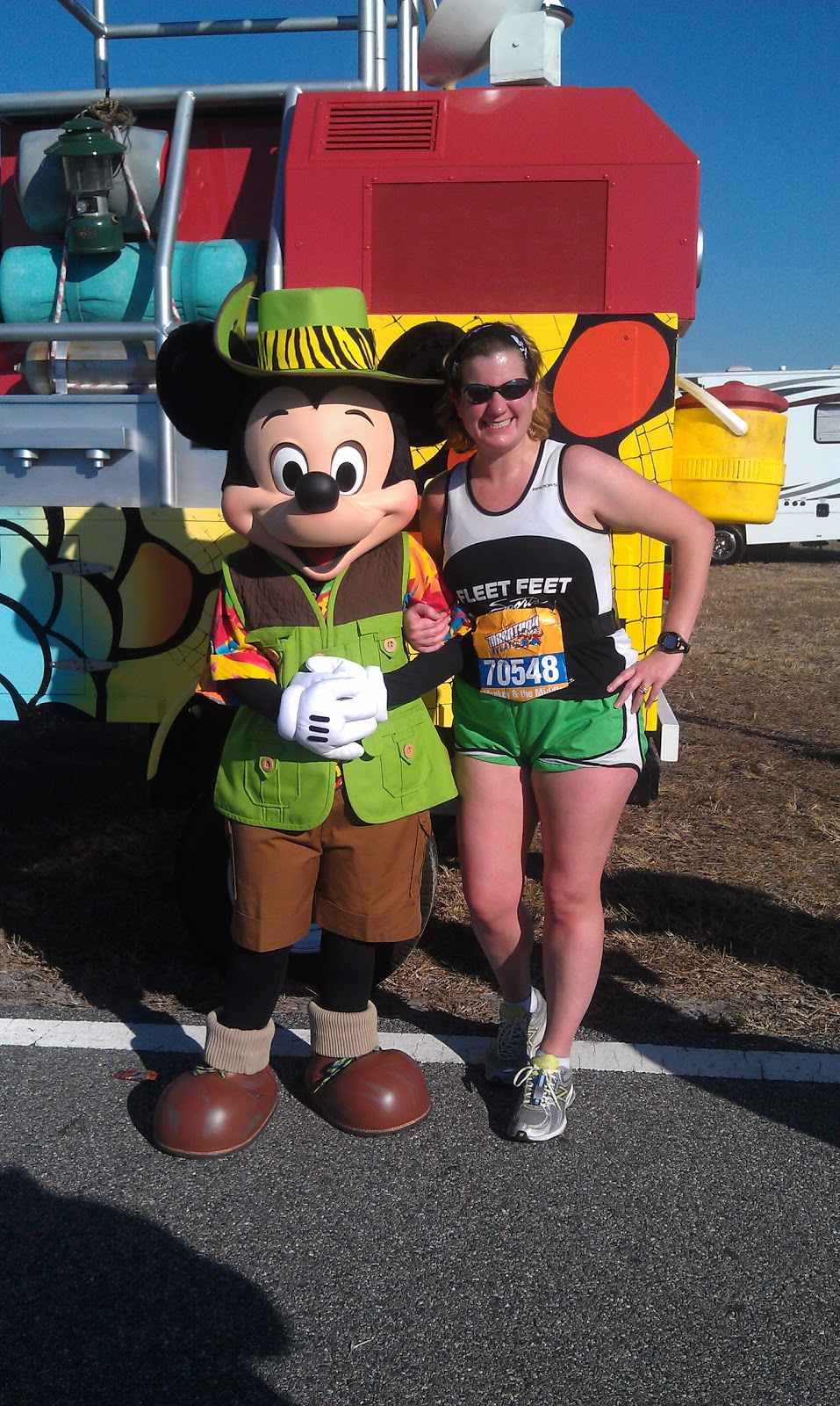 Walt disney marathon relay 2012