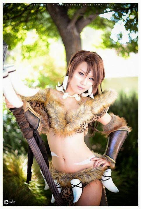 cosplayer girl