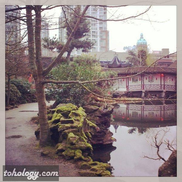 Dr. Sun Yat Sen Park in Vancouver
