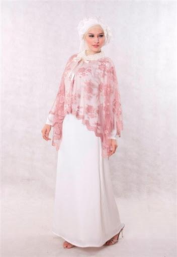 Baju muslim brokat model gaun pesta terbaru 2017 dan 2018