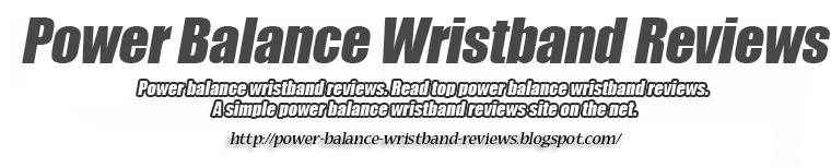 power balance wristband reviews