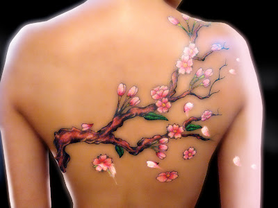 28156 Tattoos Cherry Blossoms Tattoojpg