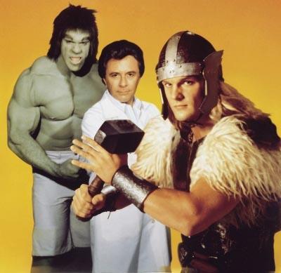 Galería de Portadores del Mjolnir - Thor TV
