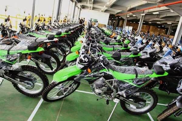 Kawasaki dirikan pabrik di Indonesia