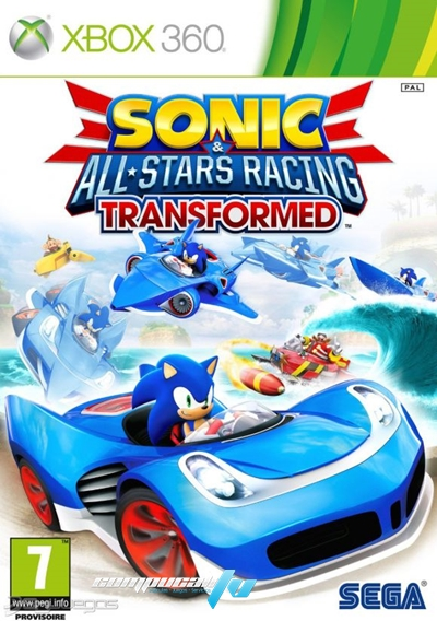 Sonic All Stars Racing Transformed Xbox 360 Espaol Regin Free 2012 