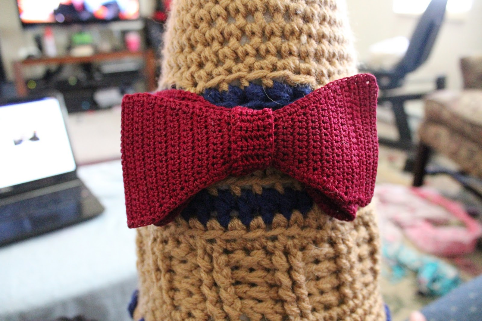 StormFly Crafts: It\'s a Crochet Bow Tie - I Crochet Bow Ties Now ...