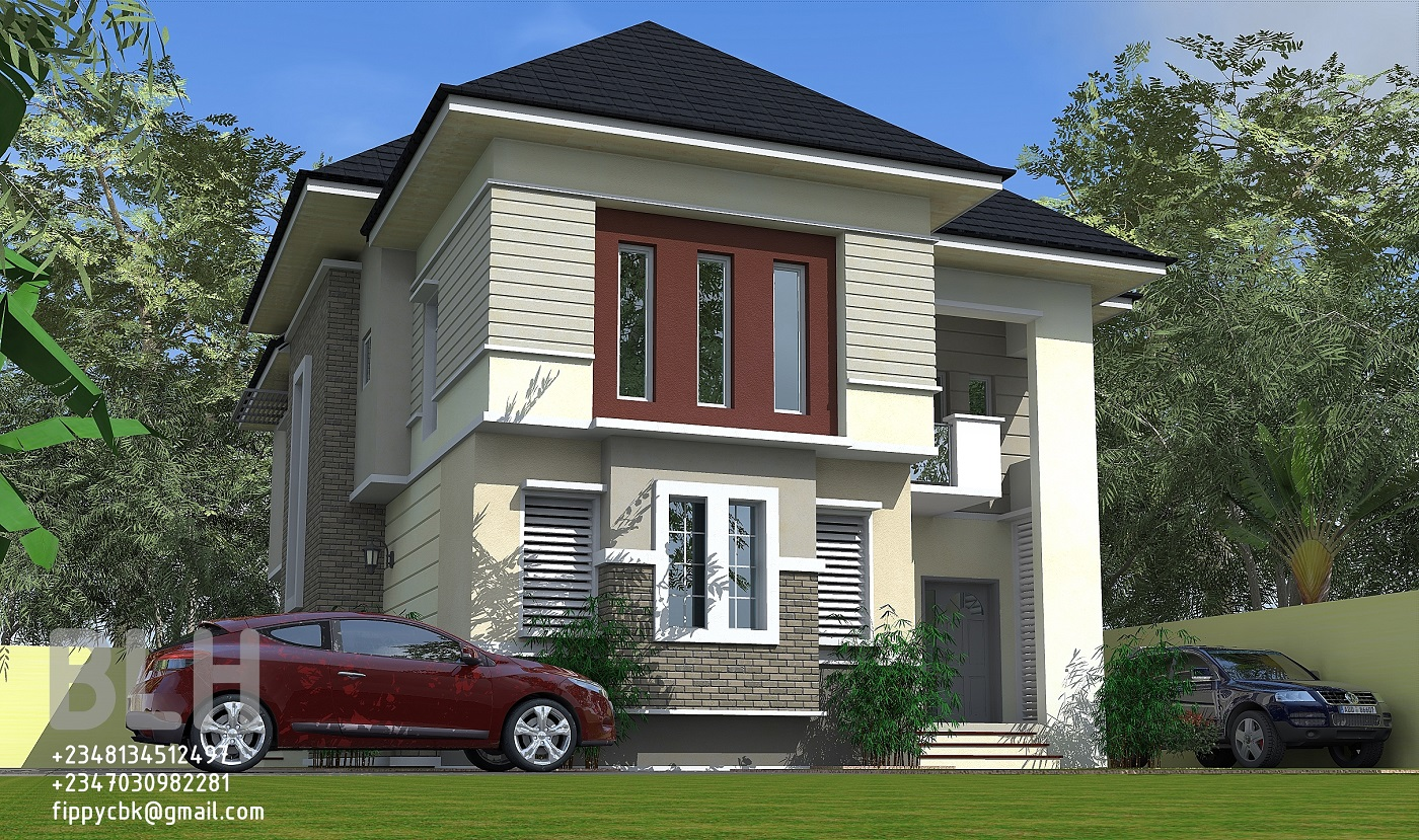 Architectural designs by blacklakehouse 4 bedroom duplex for Duplex ideas