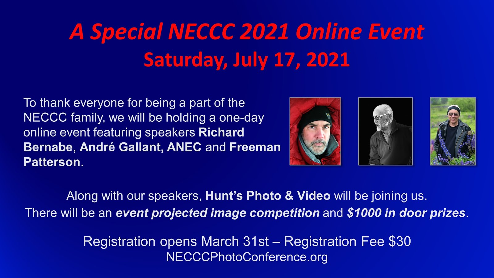 2021 Online Event