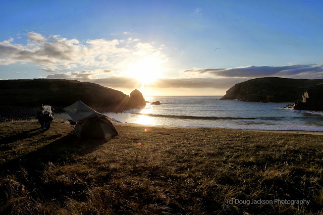 wild camping spots on Lewis and Harris