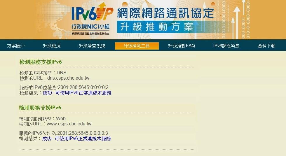 csps IPv6