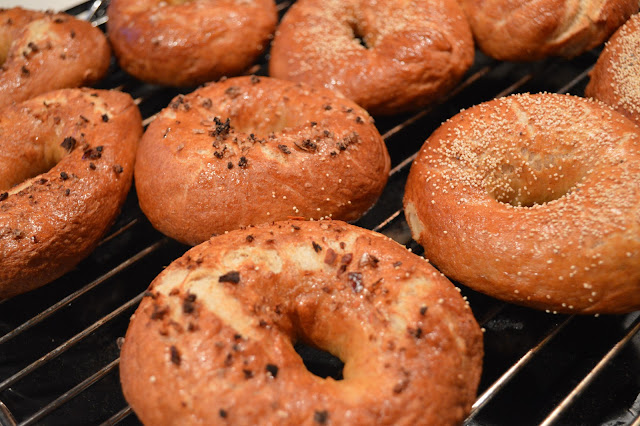 home made bagels from the Olive magazine challenge