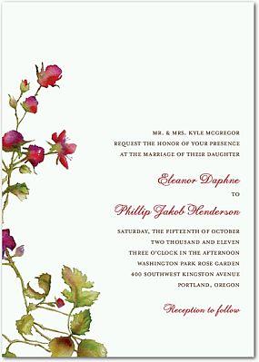 Free E Wedding Invitation Card Templates as good invitations example