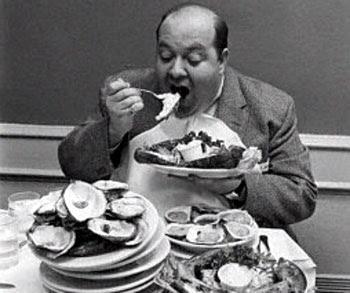 Makan berlebihan Bisa Merusak Otak