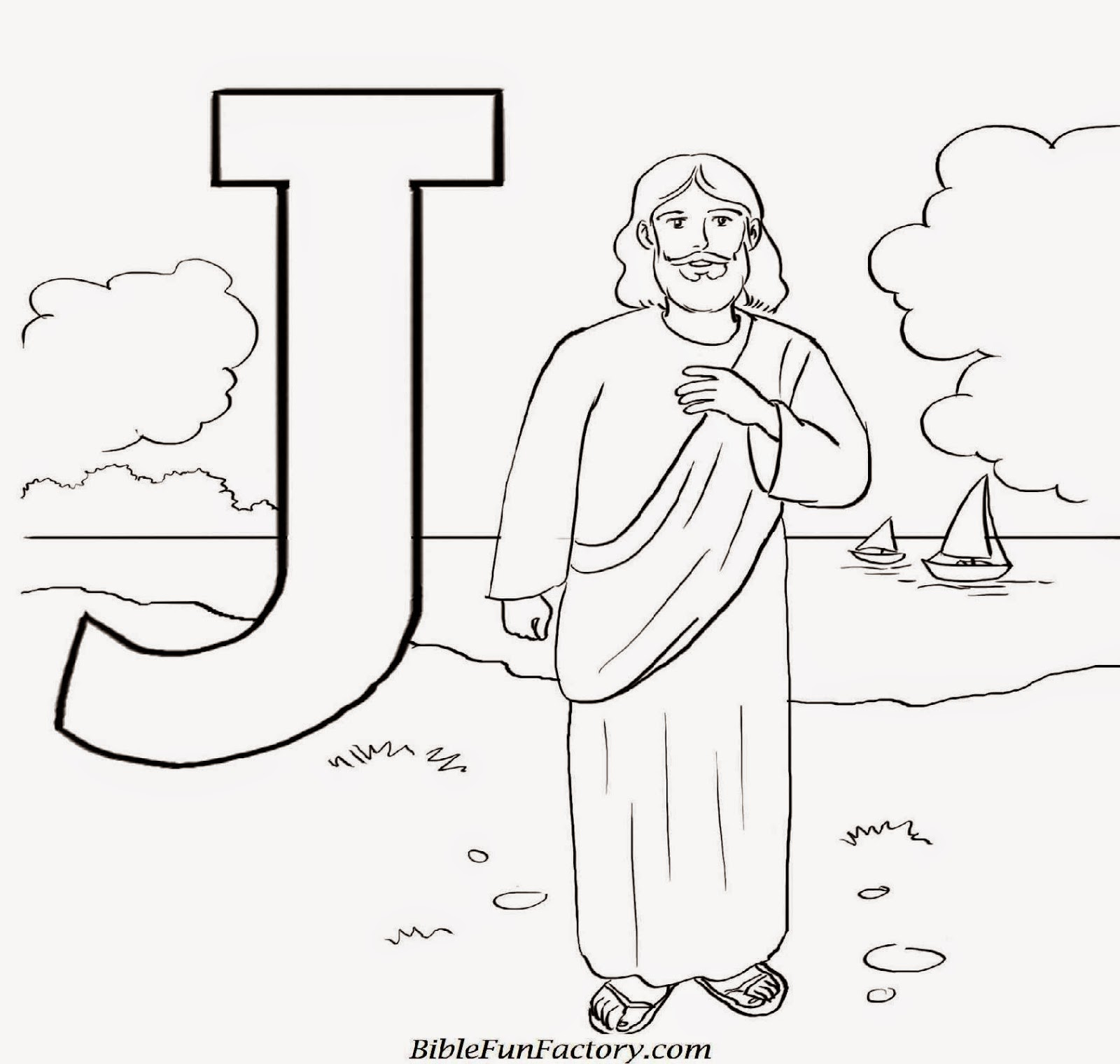 Jforjesus Jesus Coloring Pages Printable