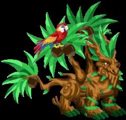 imagen del dragon tropical adulto