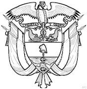 Variedad de Dibujos del Escudo de Colombia (ubicado en la zona noroccidental . escudo de colombia en grises