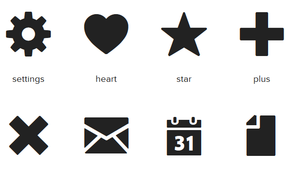 13 CSS Icon Fonts