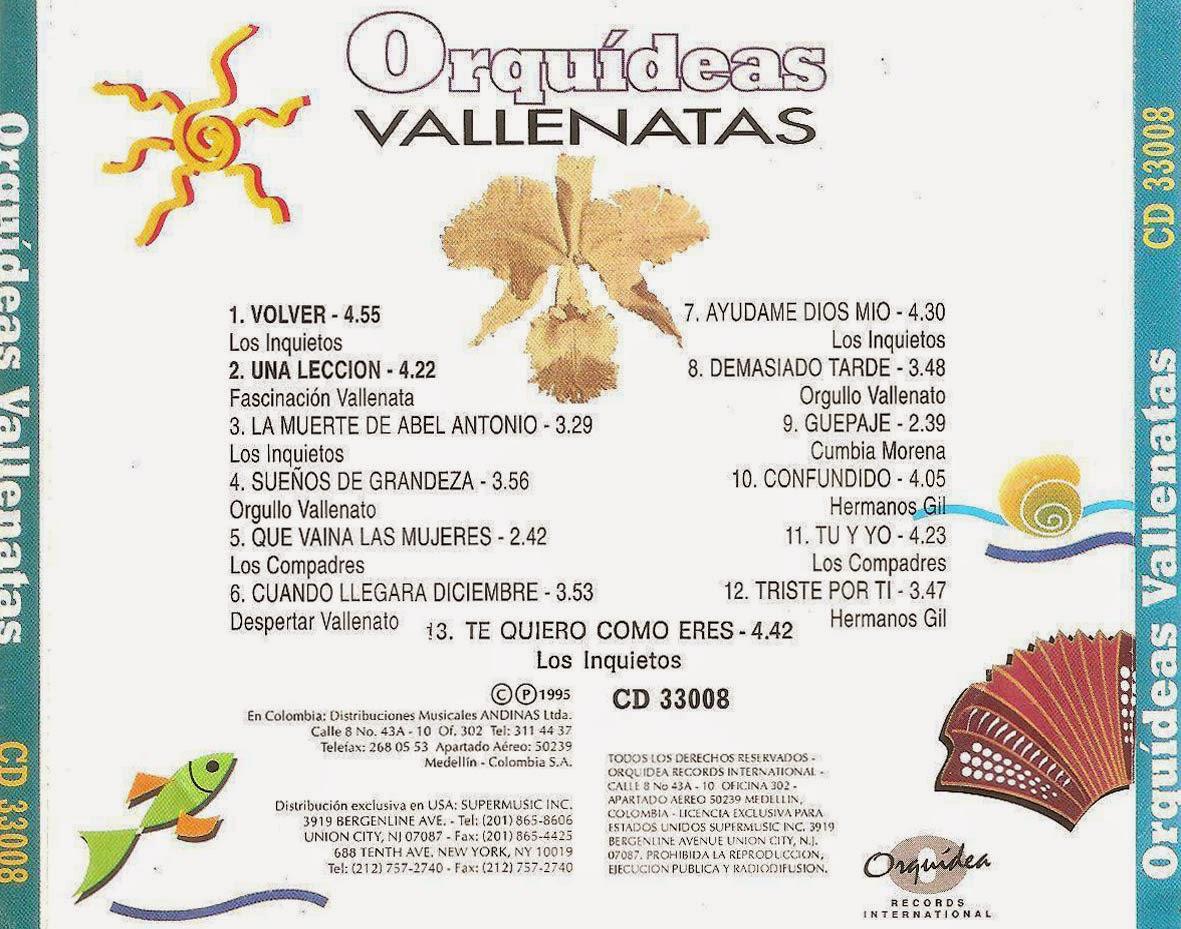 Orquideas Vallenatas
