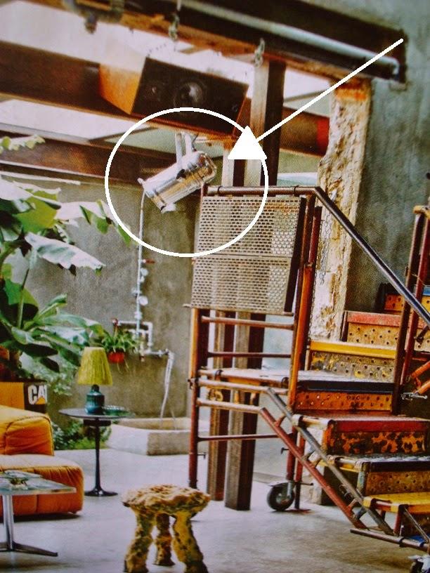 lamparas industriales de techo vintage tipo foco