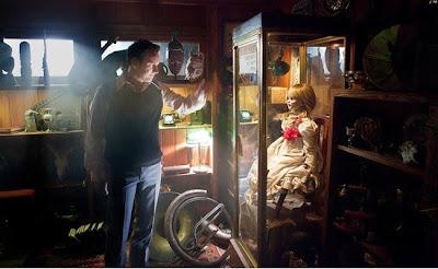 el museo de los Warren en el film The Conjuring