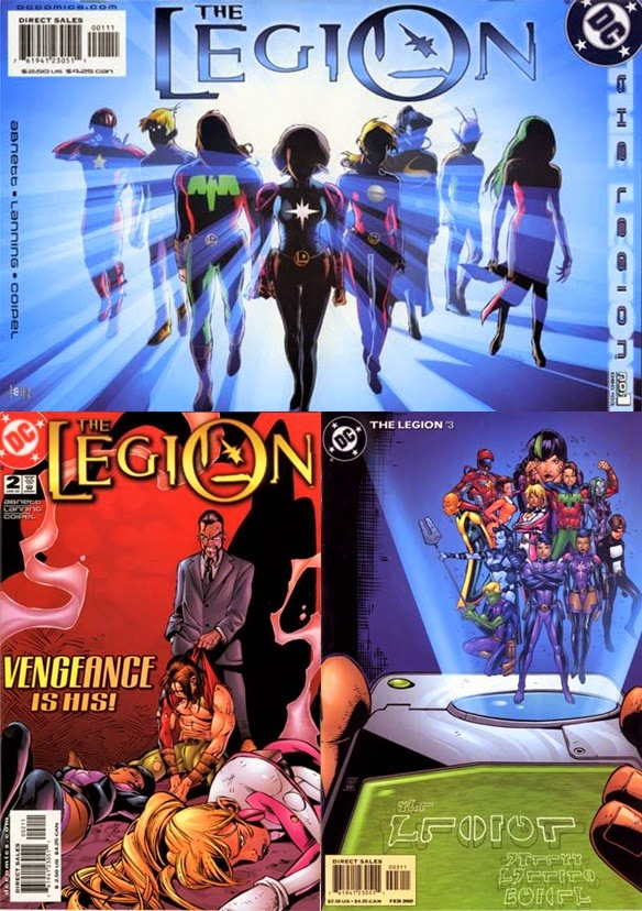 The Legion # 1, 2 3 - Abnett, Lanning Coipel