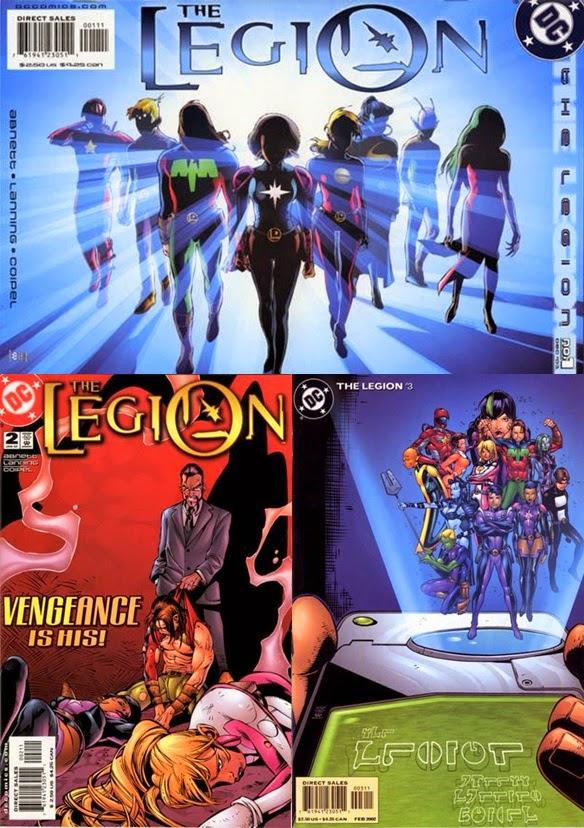 The Legion # 1, 2 3 - Abnett, Lanning Coipel