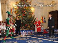 Sărbători fericite la Cotroceni Funny photo Crin Antonescu Victor Ponta Traian Băsescu