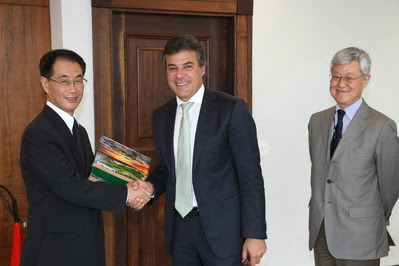 Richa será presidente de honra da comissão dos 120 anos das relações Brasil-Japão