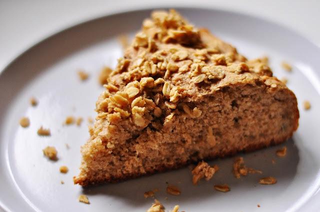 Pełnoziarnista drożdżówka z owsianą kruszonką | ani grama cukru! | dietetyczna | bez laktozy