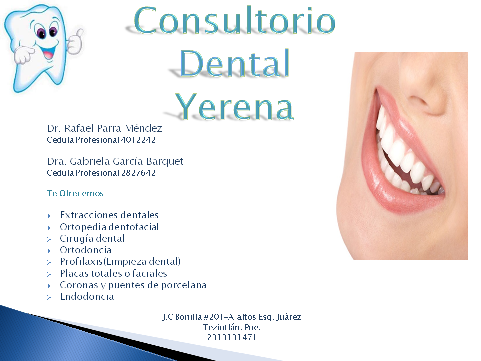 "Consultorio Dental ""YERENA"""