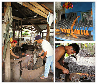 Bolo making, Camiguin Island, Philippines
