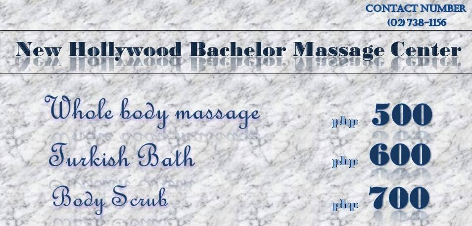 NEW HOLLYWOOD bachelor massage center