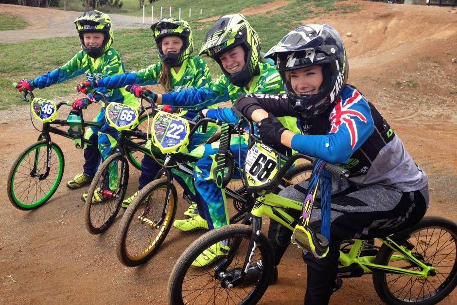 Three Qs: Chan BMX girl wins 3rd place in grand national