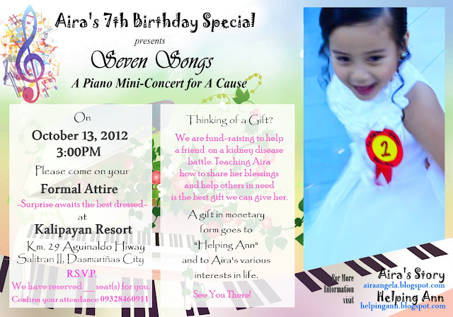 Seven Songs Airas 7th Birthday Special Airas Story