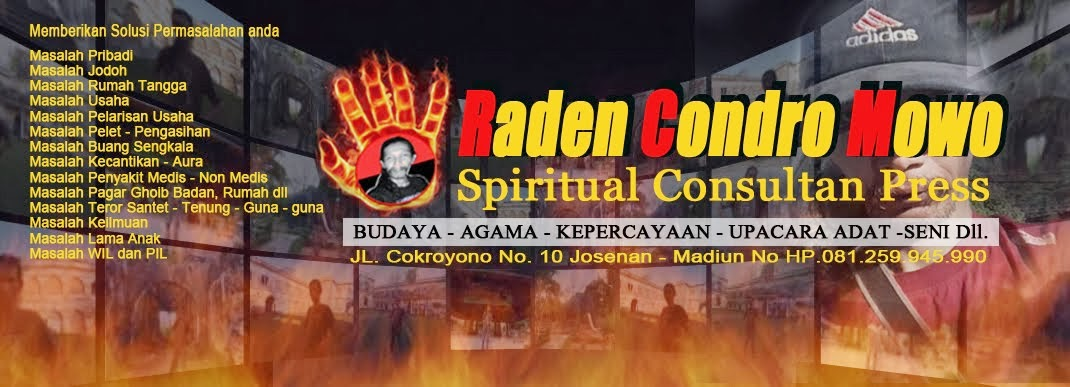 RADEN CONDRO MOWO | R. BINTANG TIMUR | MADIUN