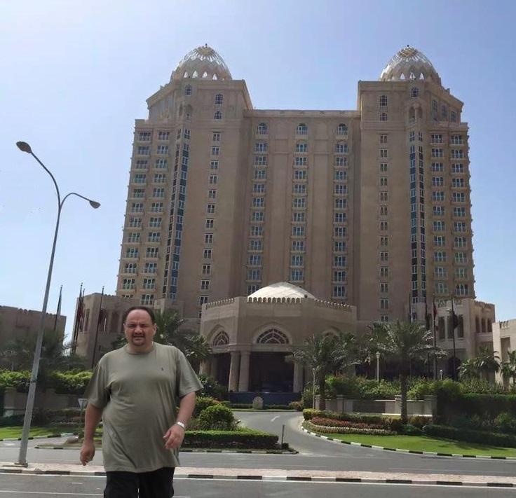 د. رشيد الطوخي  في زيارة خاصة لدولة قطر