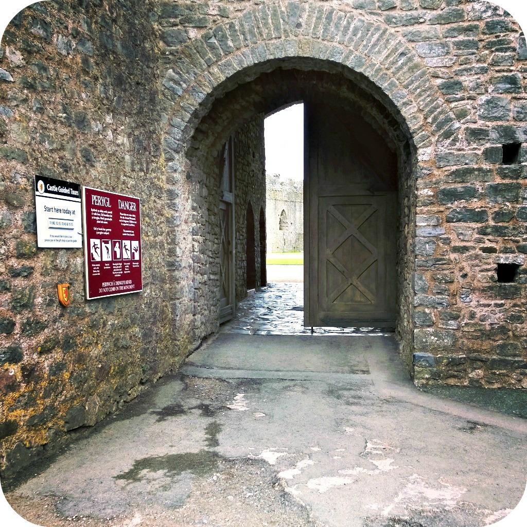 Pembroke Castle Entrance