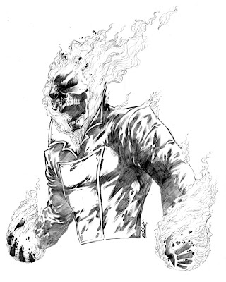 Ghost Rider Character Review (Art Picture)